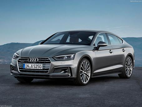 Audi's new A5 features the latest technology, including the renowned virtual cockpit