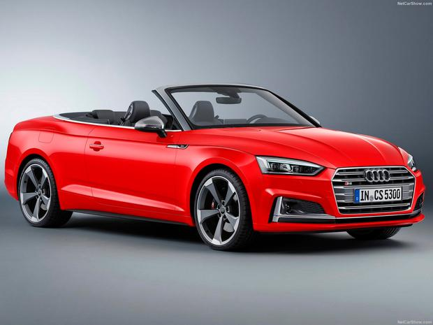 Audi's new Cabrio features the latest technology, including the renowned virtual cockpit