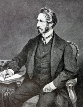 Engraving of Edward Bulwer-Lytton (1831-1891) English statesman, poet and Viceroy of India. Dated 1878 (Photo: Universal History Archive/UIG via Getty Images)
