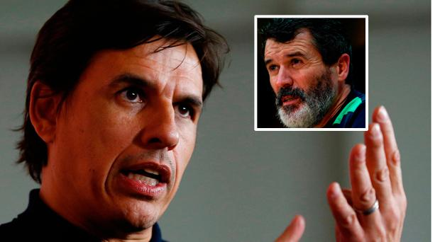 Chris Coleman says he will ignore anything Roy Keane says