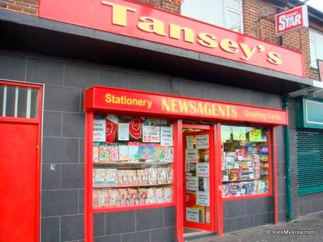 Tansey's Newsagent, Fitzmaurice Road. Picture: Facebook