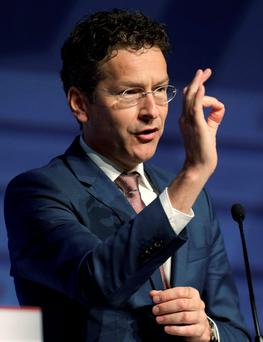 Jeroen Dijsselbloem: 'I think it would make a lot of sense for the eurozone bailout fund ESM to be developed into a European IMF in the medium to long term' Photo: REUTERS/Ints Kalnins