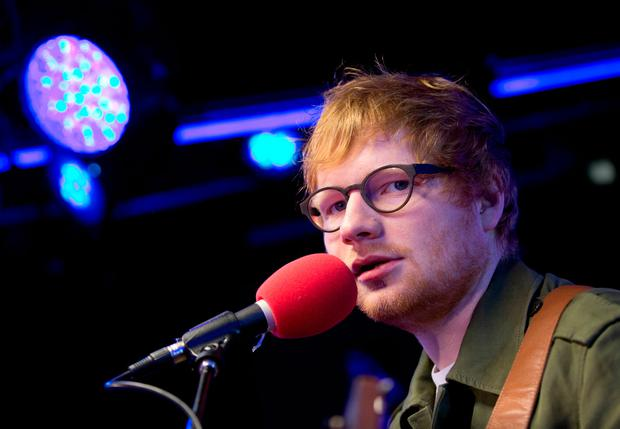 Ed Sheeran. Photo: PA