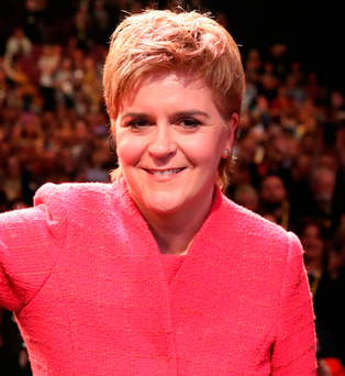 New approach: First Minister Nicola Sturgeon Photo: Andrew Milligan/PA Wire