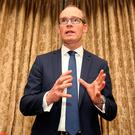 'Overhauling the rates reminds people that Simon Coveney may be 'culturally more Fine Gael'' Photo: Tom Burke