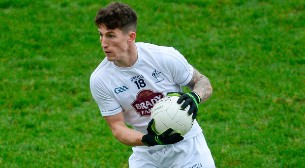 Slattery came off the bench at half-time and netted in the 37th and 50th minute to put Kildare three points clear at the top. Photo by Piaras Ó Mídheach/Sportsfile