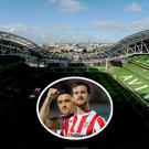 Ryan McBride will be remembered at the Aviva on Friday night