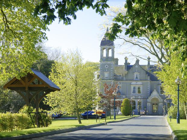 The four star historical Killashee Hotel offers magnificent views of the surrounding Kildare countryside