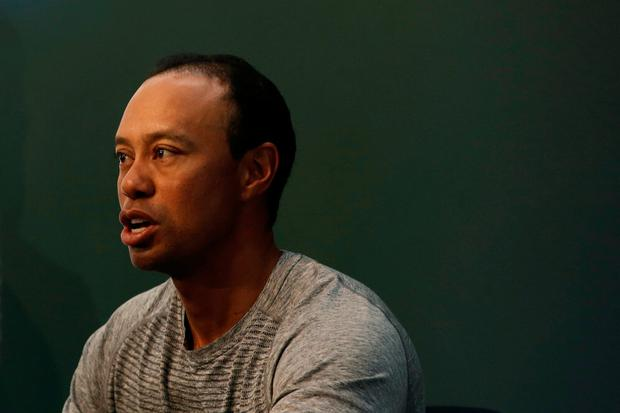 Woods has not played competitively since the start of February CREDIT: AP