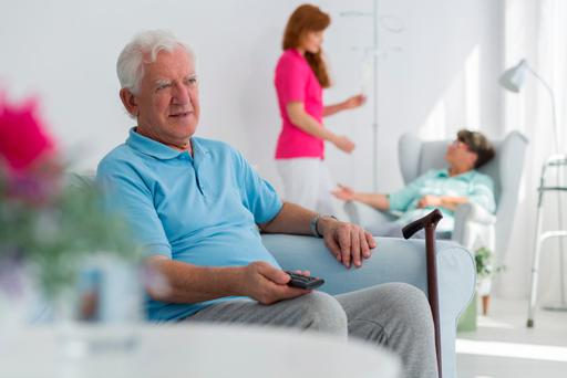 The issue of nursing home care is high on the agenda for many