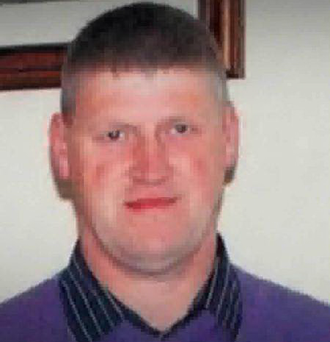 Mickey McCarville: Jailed for 20 years Photo: RTÉ/Anglo Celt