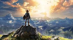 The poster for Legend of Zelda: Breath of the Wild