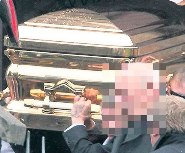 Andy Connors was buried in a gold coffin with a €40,000 Rolex on his wrist
