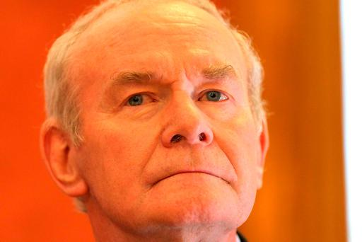 Martin McGuinness 1950-2017. Photo: AFP/Getty Images
