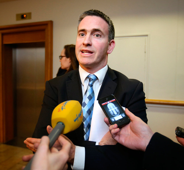Damien English said that 248 estates were resolved in 2016 Picture: Frank McGrath