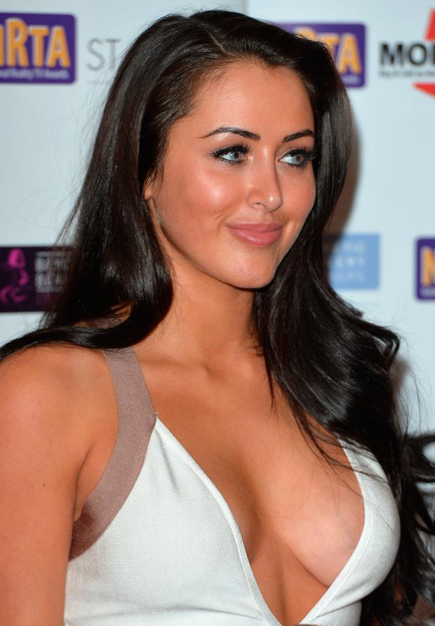 Marnie Simpson attends the National Reality TV Awards at Porchester Hall on September 30, 2015 in London, England. (Photo by Anthony Harvey/Getty Images)