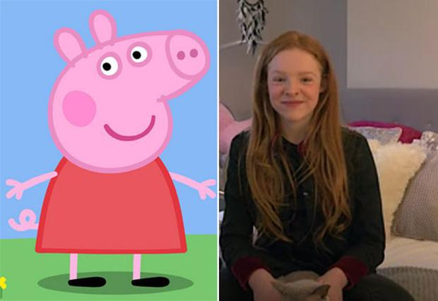 Meet the teenage girl who has been the voice of peppa pig since she harley bird has voiced peppa since she was five years old photo credit m4hsunfo