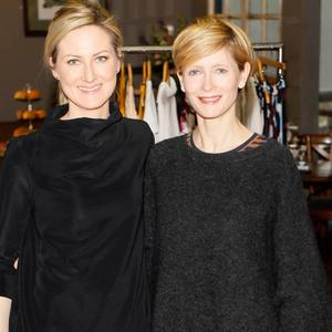 Sarah Ricard and Marie O'Neill at the launch of the AVOCA Spring Summer 2017 Collection at their Rathcoole store. Picture: Kieran Harnett