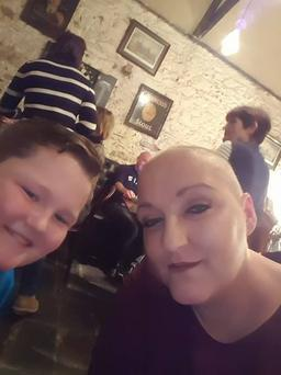 Sinead Breen and her son Sean (10)