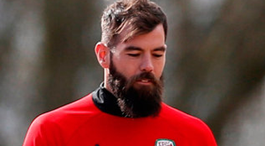 Joe Ledley could miss Wales' World Cup qualifier against Ireland if his pregnant wife Ruby goes into labour before the Dublin clash. Photo: Reuters