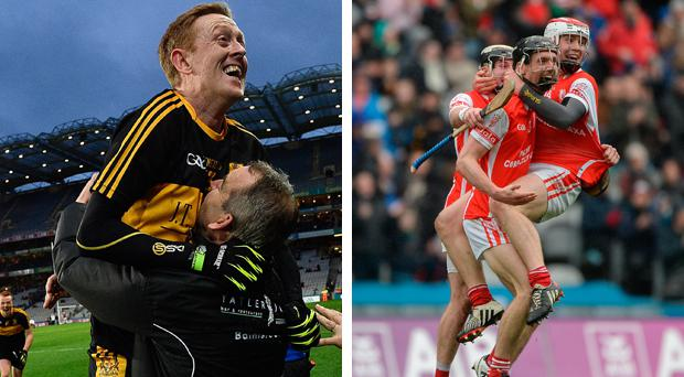 Dr Crokes won this year's All Ireland club final and Cuala won the hurling