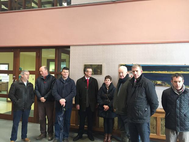 Farmers stage sit in at Department of Agriculture offices in Tipperary
