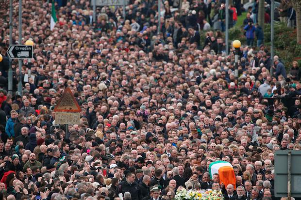 Funeral of Martin McGuinness - Gerry Mooney