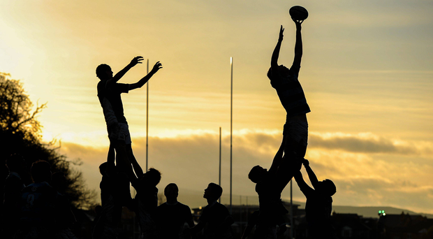 Malahide have drawn the short straw with two away games, kicking off in Omagh tomorrow week before a home fixture against Clonmel a week later and then there's a break for Easter before they finish up in Ballina on April 22. Stock photo: Sportsfile