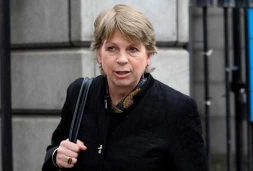 Charity co-ordinator Maureen O'Hagan said she was attacked when she attempted to shoo the black cat out of her south Dublin home. Photo: Collins Courts