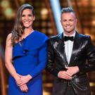 Hosts Amanda Byram and Nicky Byrne. Photo: Kyran O'Brien