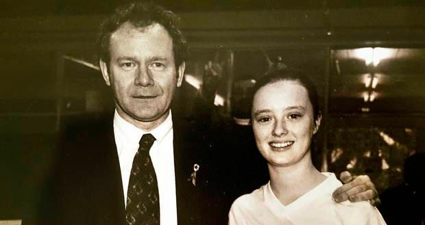 Martin McGuinness and Mairia Cahill