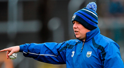 Derek McGrath is stepping away from teaching to concentrate on his role as Waterford manager. Photo: Ramsey Cardy/Sportsfile