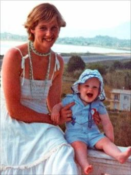 Victim number 2,299: Joanne Mathers, who was shot in 1981, with her son shane