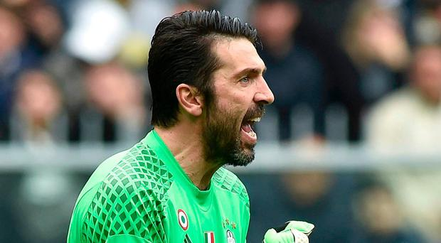 Juventus' goalkeeper Gianluigi Buffon. Photo: Giorgio Perottino