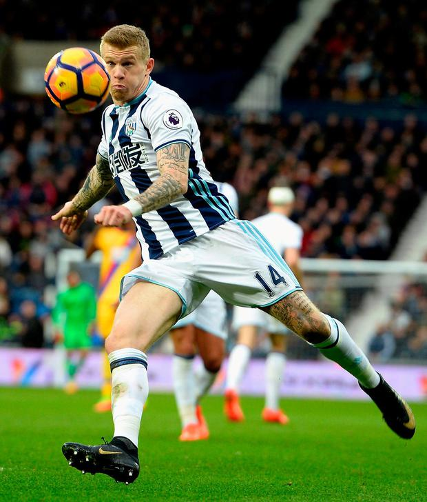 James McClean of West Bromwich Albion. Photo: Tony Marshall/Getty Images