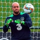 Republic of Ireland's Darren Randolph. Photo: David Maher/Sportsfile