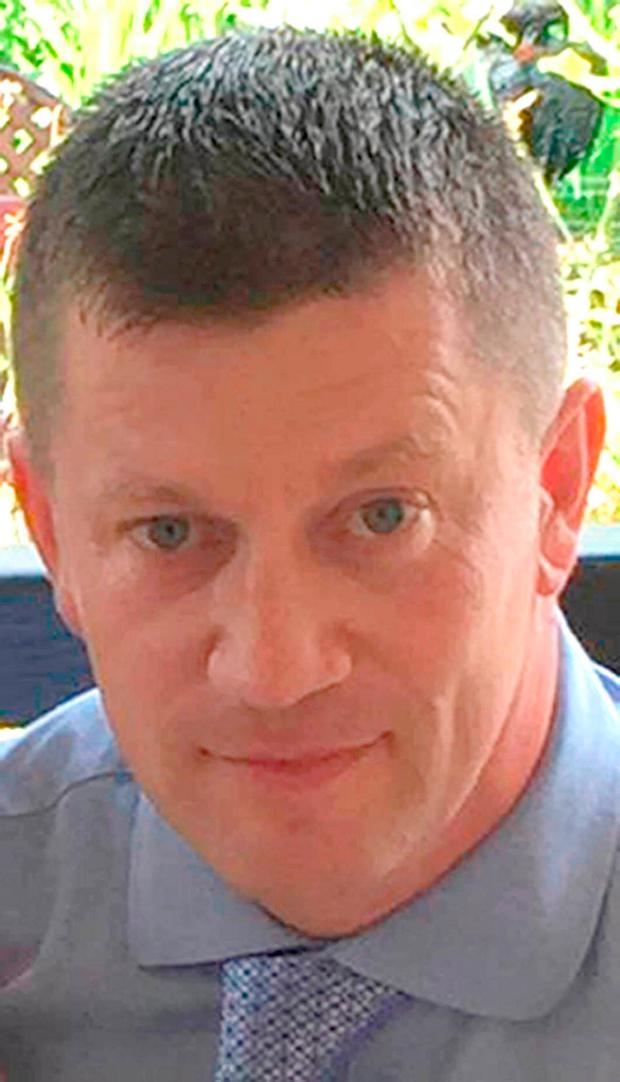 Police Constable Keith Palmer, who was stabbed to death by terrorist Khalid Masood at the British Parliament. Photo: PA