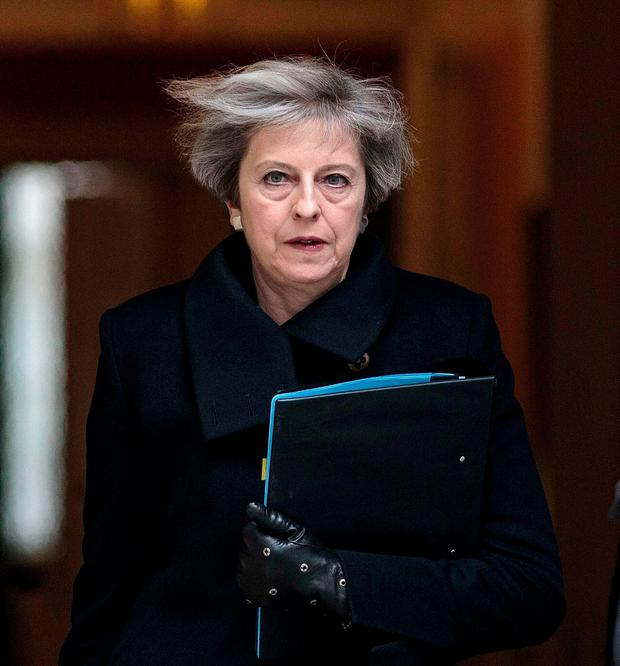 British Prime Minister Theresa May absolved her security services of any blame. Photo: REUTERS