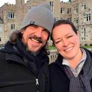 Kurt Cochran and his wife Melissa, who were in Europe to celebrate their 25th wedding anniversary. Photo: REUTERS
