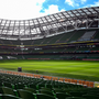 A general view of the Aviva Stadium