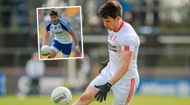 Mattie Donnelly and Darren Hughes (inset) have spoken about the dangers of concussion