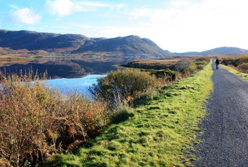 The greenway is along a 32km stretch in South Kerry.