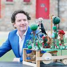 Garden of Pure imagination. Pictured is Diarmuid Gavin as he announces that Dundrum Town Centre's 'Garden of Pure imagination' launches this spring. Diarmuid Gavin, award-winning gardener and TV personality, brings his critically acclaimed Chelsea Flower Show Garden to Dundrum Town Centre this summer on the 20th May.