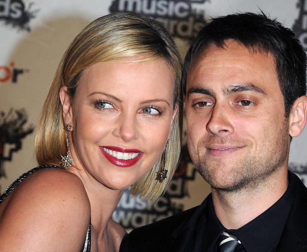 Actress Charlize Theron and actor Stuart Townsend split up in 2010