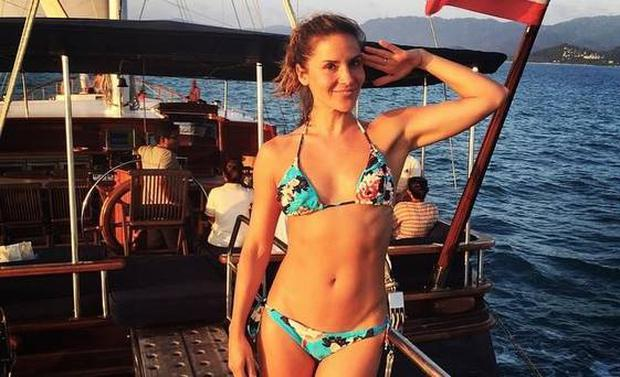 Amanda Byram is sharing the secrets to her toned body in a new workout video series