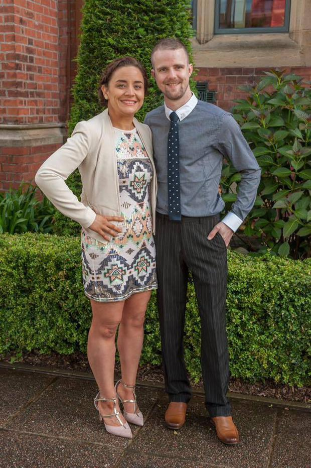 Laura finally found the confidence to try online dating and met her boyfriend Matthew