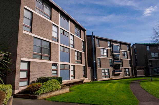 Accomodation at St Patrick;s College in Drumcondra (Photo: Doug O'Connor)