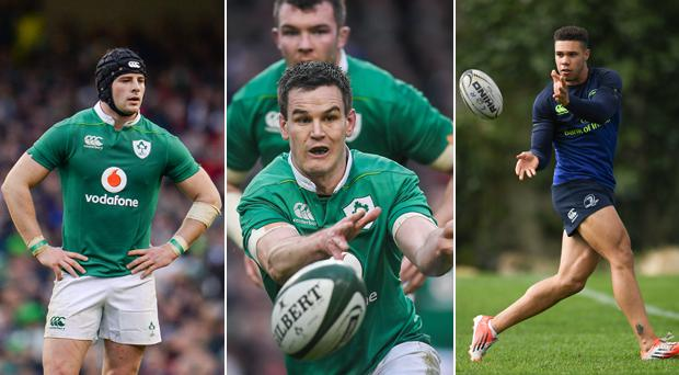 Henshaw and Byrne miss out but Sexton comes into Greenwood's XV