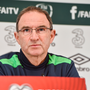 Republic of Ireland manager Martin O'Neill during a press conference at the FAI National Training Centre in Abbotstown, Co Dublin. Photo by Matt Browne/Sportsfile