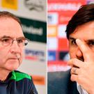 Martin O'Neill and Chris Coleman